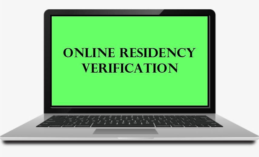 Online Residency Verification